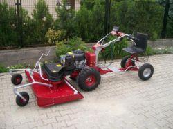 DAKR Csehország Dakr-Panther MC121 hydro professzionális ipari mulcsozó-kaszáló szenzációs áron !!