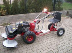 DAKR 16 LE-s Briggs motoros Panter kistraktor szuper áron !!!