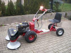 Panter 14 LE-s Briggs motoros Panter kistraktor szuper áron !!!