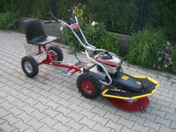Panter Panter FD-2 hydro professzionális egytengelyes traktor !!!