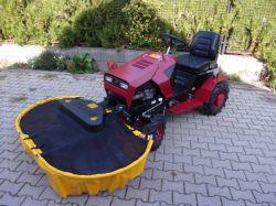 Panter 16 LE-s Briggs motoros, Panter FD-5 fűkaszáló traktor, cseh gyártmány!