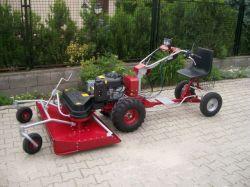 Panter Dakr-Panter MC121 hydro professzionális ipari fűnyírógép szenzációs áron !!!
