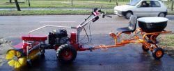 Panter Kommunaltrac FD-316, 16 LE-s kommunális traktor szuper áron !!!